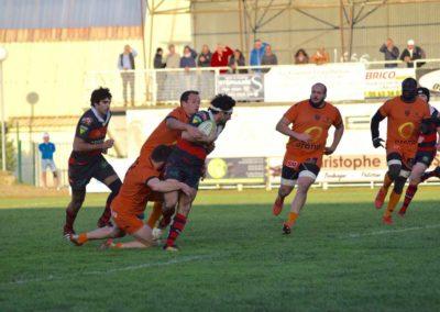 © Maeva Franco - Équipe 1 - S.C. Graulhet vs R.C. Narbonne Méditerranée - Photo 130