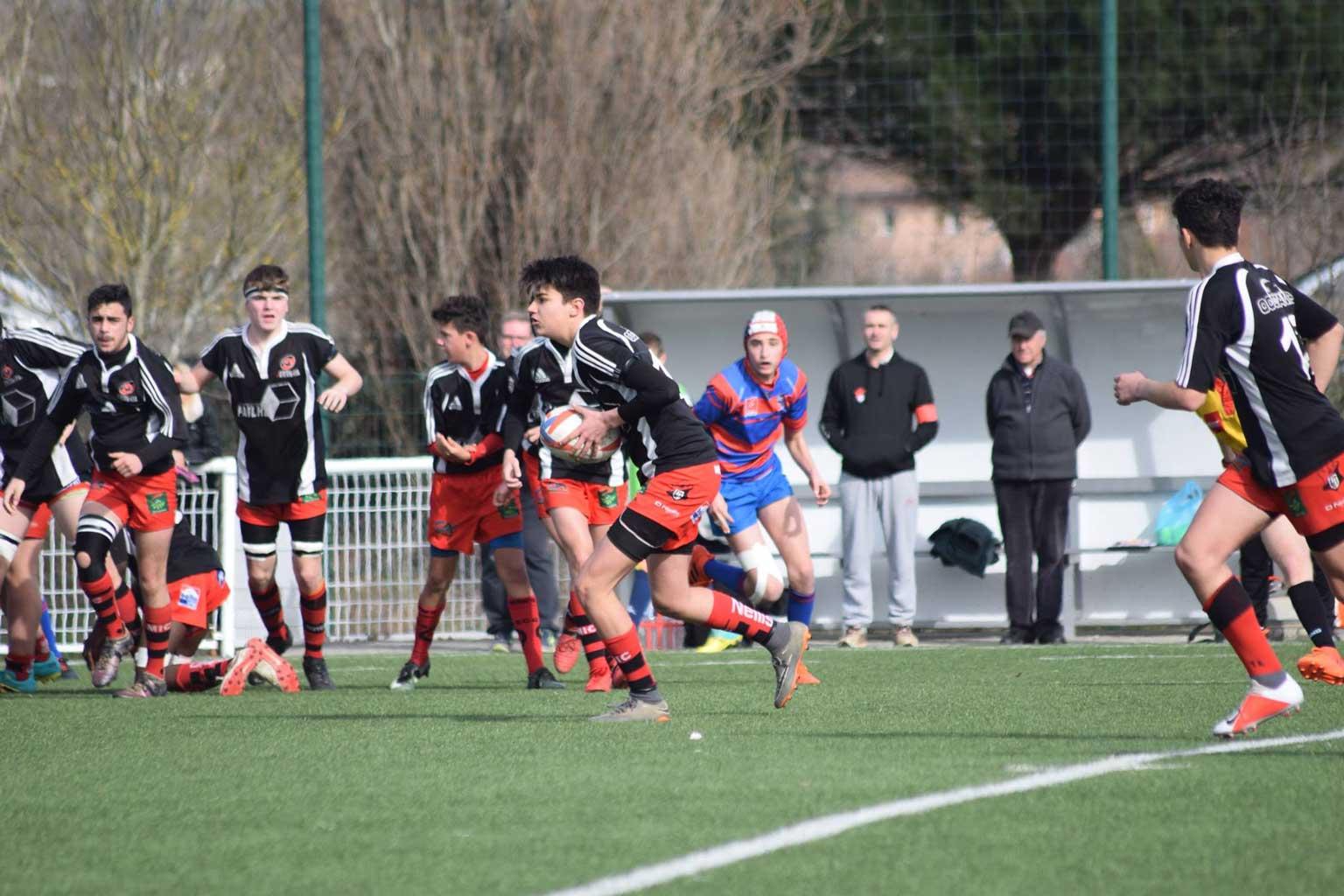 © 2019 Maeva Franco - U16 - Toulouse U.C. vs S.C. Graulhet