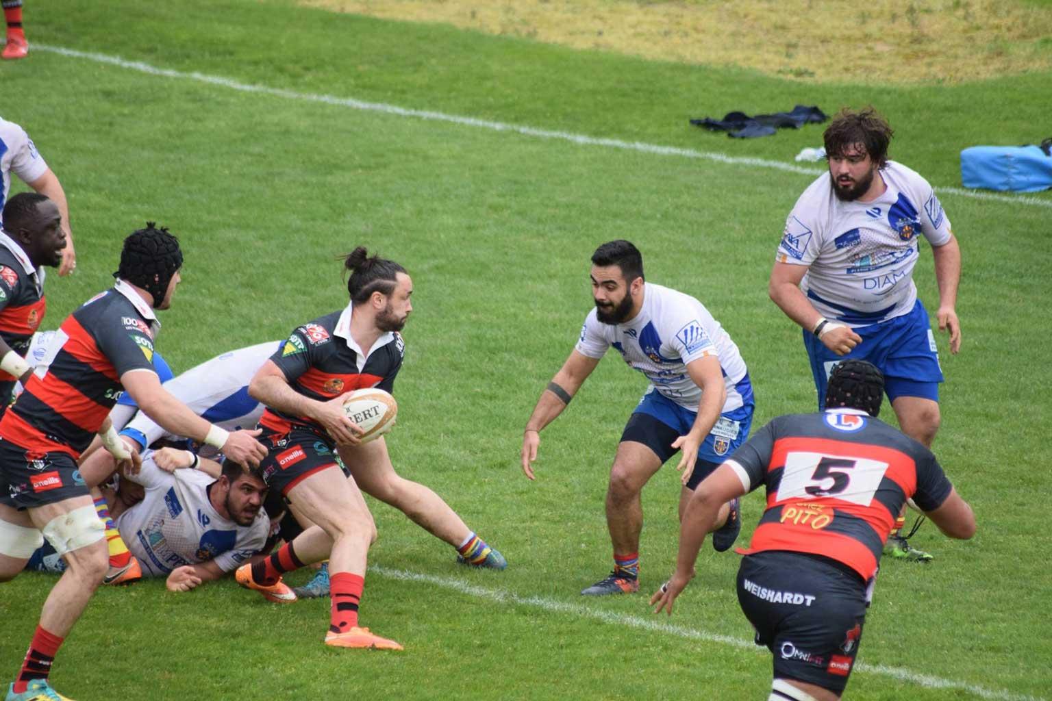 © 2019 Maeva Franco - Équipe 1 - S.C. Graulhet vs Céret Sportif