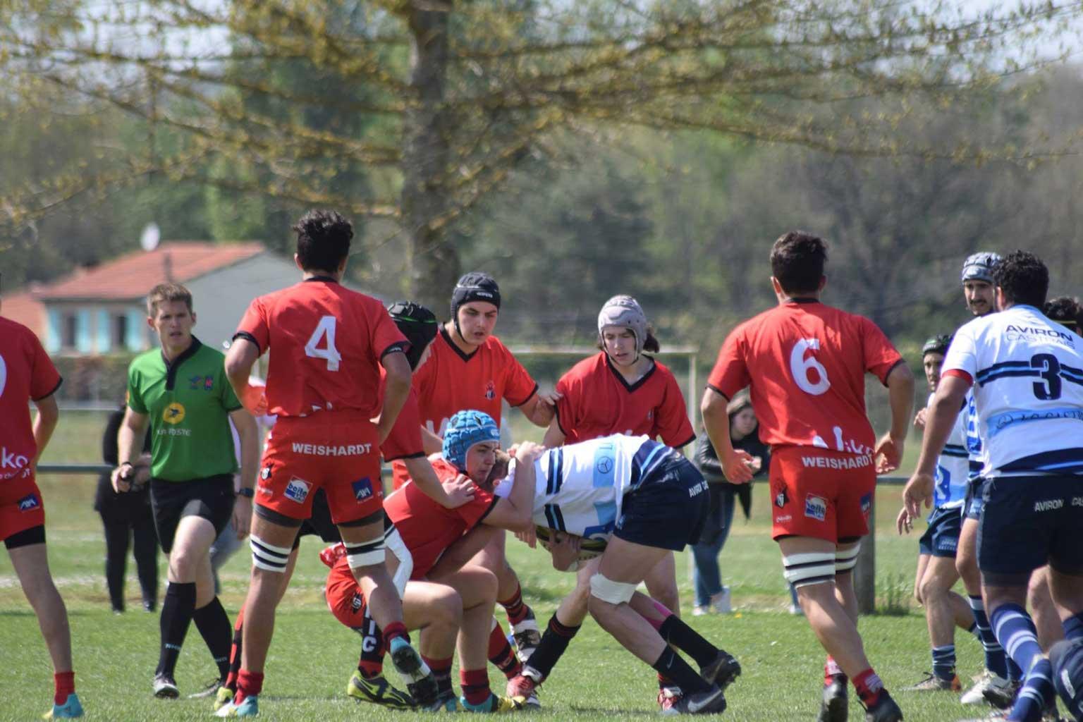 © 2019 Maeva Franco - U19 - S.C. Graulhet vs Aviron Castrais